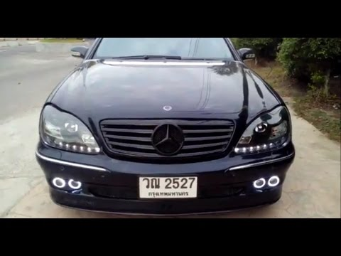 mercedes benz s class w220 2001 by brabus full option bodykit youtube. Black Bedroom Furniture Sets. Home Design Ideas