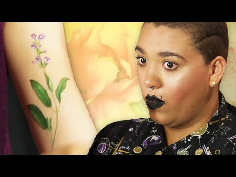 Women Try Scented Tattoos