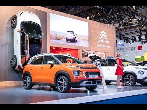 Citroën at Frankfurt Motorshow 2017 - IAA: Citroën booth presentation