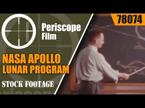 NASA APOLLO LUNAR PROGRAM RE-ENTRY SIMULATION FILM 78074