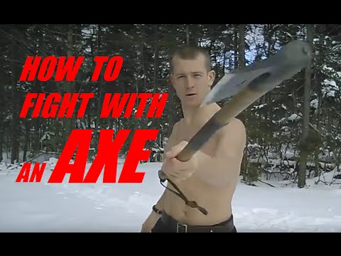 HOW TO FIGHT WITH an AXE: Combat Lesson 1 - Defeat Your Enemy