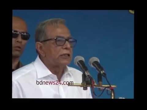 President Hamid decries domination of businessmen in Bangladesh's politics