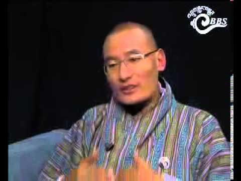Dawai Kudroen with Opposition Leader, Tshering Tobgay