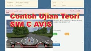 Latihan Ujian Teori SIM C Avis