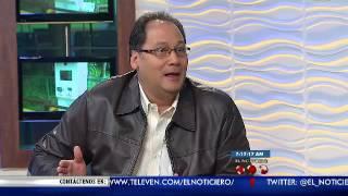La Entrevista El Noticiero Televen - Primera Emisión - Miércoles 24-08-2016