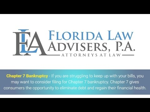 Chapter 7 Bankruptcy In Florida Tampa Attorney Free Consultation