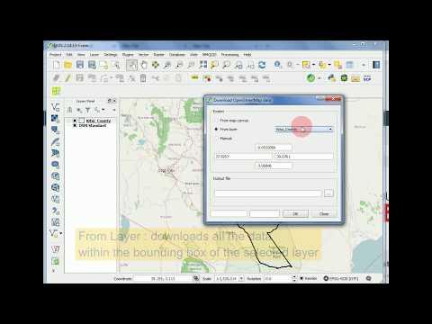 Downloading OpenStreetMap (OSM) data using Quantum GIS (QGIS)