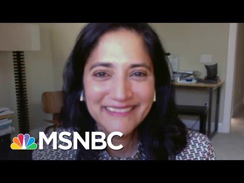 Dr. Kavita Patel 'Gleeful' Over Pfizer Vaccine Developments   Stephanie Ruhle   MSNBC
