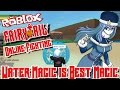 WATER MAGIC IS BEST MAGIC! | Roblox: Fairy Tail Online Fighting