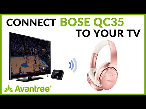 how-to-connect-bose-qc35-to-tv-or-pc-via-avantree-audikast