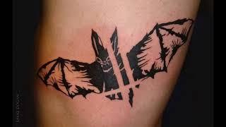 Значение тату Летучая мышь - коллекция фото готовых рисунков тату