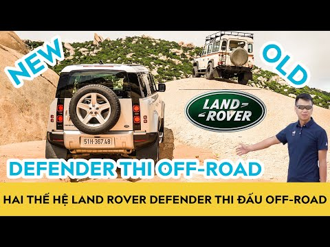 Land Rover Defender 2020 đọ sức Defender 1999 - Leo đá, vượt dốc & Bay đồi cát | Autodaily