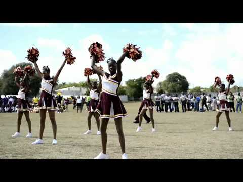 Sports day cheerleading in #Anguilla