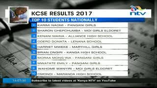 Kenya High, Pangani Girls top performers in this years KCSE