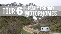 Tour 6 Family Friendly Motorhomes: Perfect for Full-Time Traveling Families!