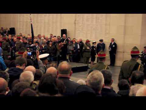 Welcome Home, in Ypres Dave Dobbyn