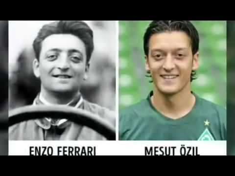 Enzo Ferrari And Mesut Ozil Many More Coincidences Youtube