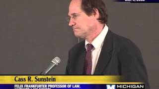 2008 Academic Freedom Lecture - Cass R. Sunstein - 12/04/08