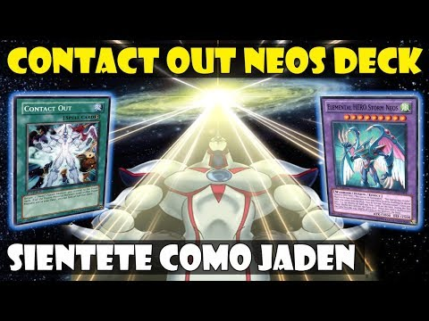 CONTACT OUT NEOS DECK | ¡SORPRESA, HE VUELTO! - DUEL LINKS