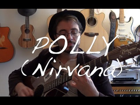 guitare acoustique nirvana