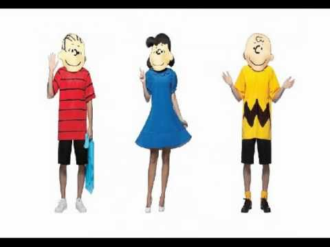 sc 1 st  YouTube & Peanuts and Charlie Brown Costumes - YouTube