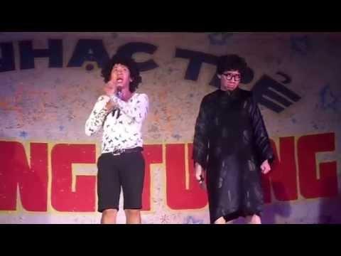 [HD] Hài Con Bướm Xinh - Trấn Thành - Anh Đức ở Mỏ Cày Bắc - Bến Tre