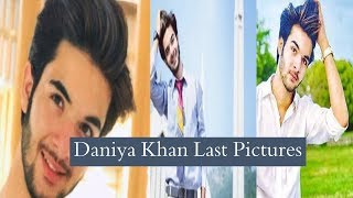 Daniya Khan Last Pictures Before his Car Accident