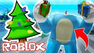 THE WORLD'S MOST GIANT NOEL PAPA 😱 DRINK MYROB ROBLOX GYM