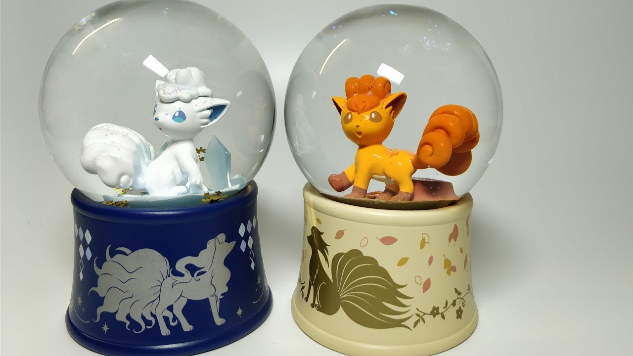 Image result for vulpix snow globe