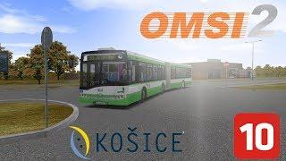 OMSI 2 KOŠICE L10 Madridská OC Optima & Solaris Urbino 18 III DPMK