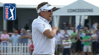 Ian Poulter's clutch putt to force playoff at Houston Open