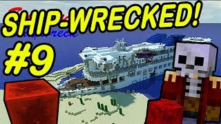 "Minecraft | SHIPWRECK! | ""The Magical Block"""