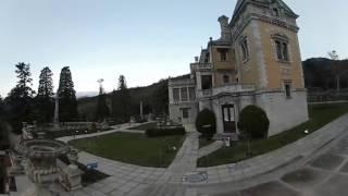Массандровский дворец, Ялта, Крым, gear 360 video(Во дворце находятся уникальные предметы быта. Например, камин из цельного куска коричневого мрамора, люстр..., 2016-11-30T06:56:46.000Z)