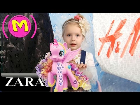 Девочка Маргарита - Фэшн Блогер. Мода для девочек Весна Лето 2016 / Zara, H&M Холодное сердце