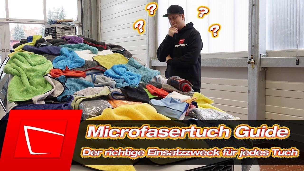 Autopflege Microfasertücher Das Richtige Tuch Für Jeden Einsatzzweck