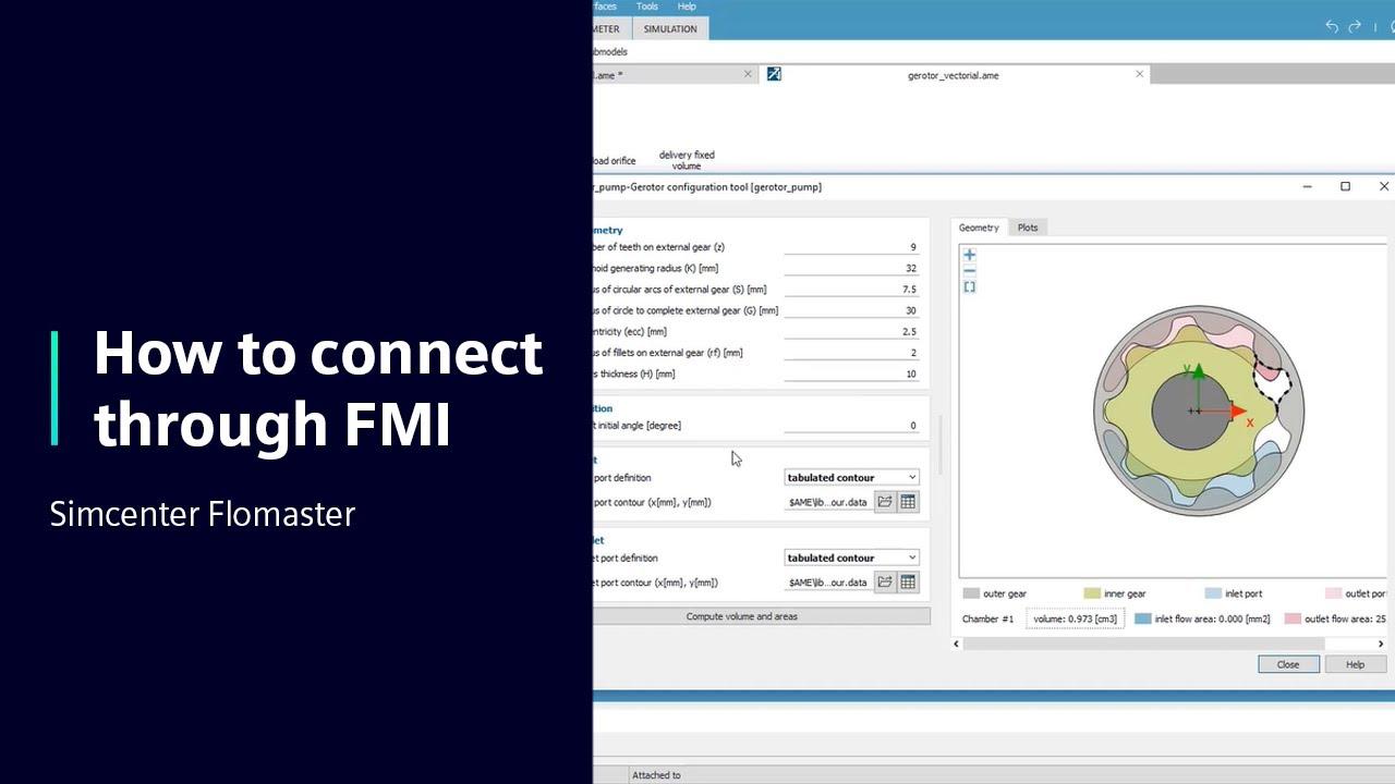 [TECH TIPS] Simcenter Flomaster - How to connect through FMI using Simcenter Flomaster