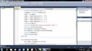 Visual Basic - Einfache Ver-/Entschlüsselung