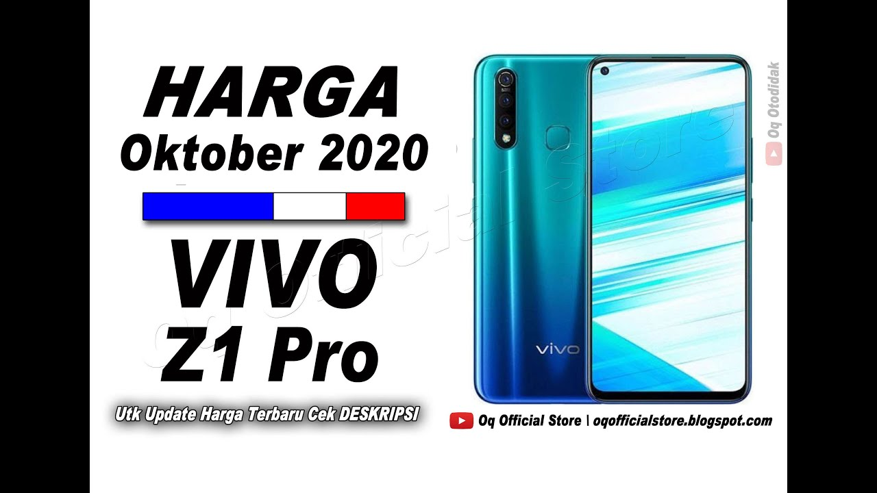 Smartphone ini memiliki desain kamera depan punch hole dan tiga kamera belakang. Harga Dan Spesifikasi Vivo Z1 Pro 2021 2021