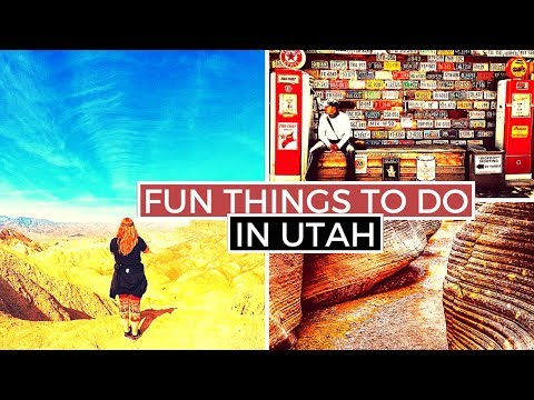 Best Things To Do And See In Utah | Top 10 Hidden Gems Of Utah [EXCLUDING National Parks]