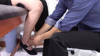 A substituição espasmo joelho após isquiotibiais dos do