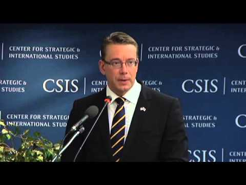 Statesmen's Forum: Minister of Defense of Finland Stefan Wallin