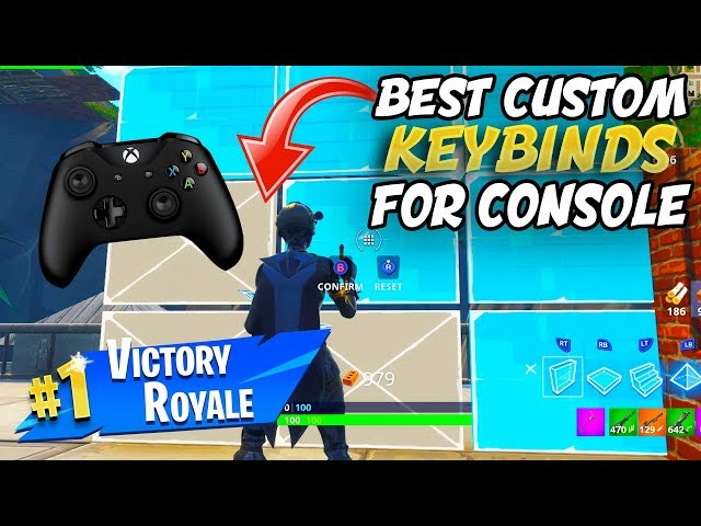 Best Custom Bindings For Ps4 And Xbox Controllers Fortnite Console