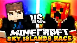 Minecraft SKY ISLANDS PARKOUR RACE! | with PrestonPlayz & Landon