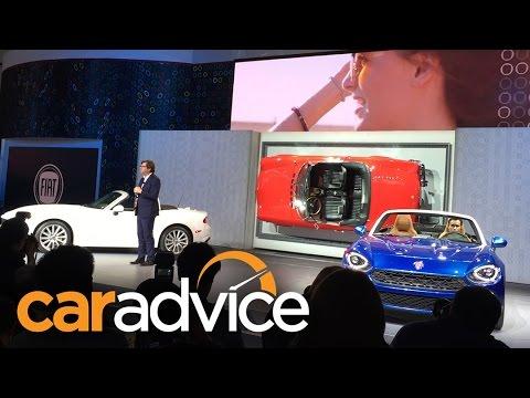 Excellent 2016 Fiat 124 Unveiling  2015 LA Auto Show  YouTube
