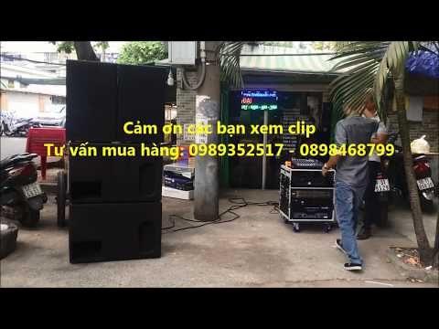 Dan am thanh karaoke di dong loa Ps-15 và LS-1200 đại thiên ân 0989352517