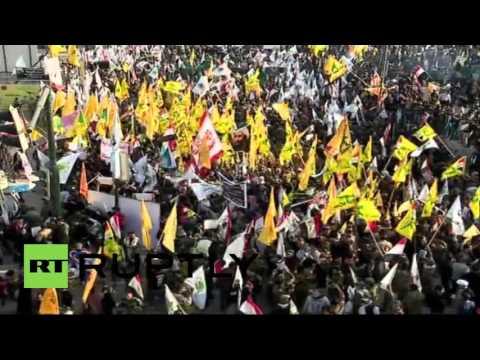 Iraq: Baghdad protesters decry Saudi execution of Sheikh Nimr al-Nimr