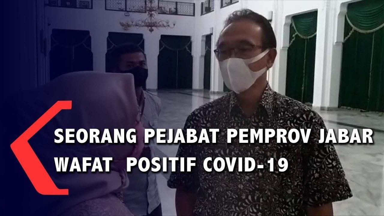 Seorang Pejabat Pemprov Jabar Wafat  Positif Covid-19