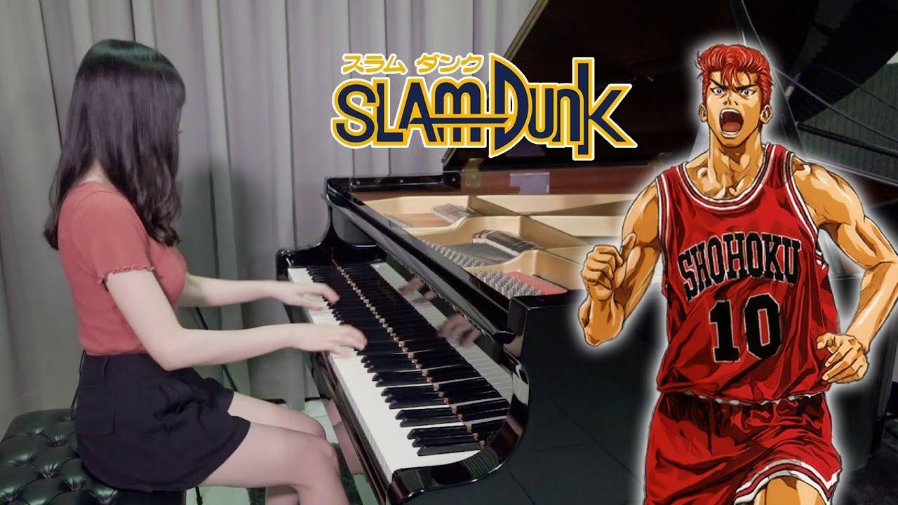 SLAM DUNK OP - Kimi ga Suki da to Sakebitai  君が好きだと叫びたい - Ru's Piano