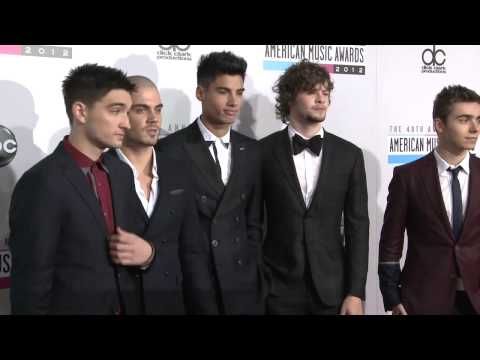 The Wanted Fashion American Music Awards 2012