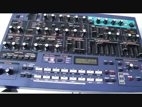 How to make trance-sounds with Roland JP-8080 - Matthijs van Baardewijk